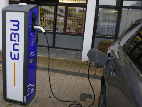E-Car Ladestationen