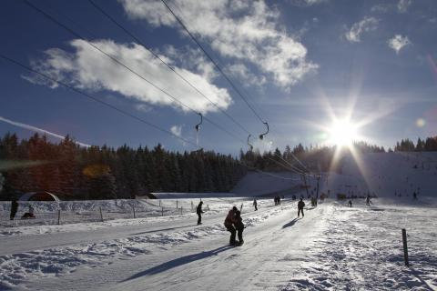 Wintersport im Murgtal